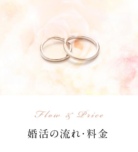 婚活の流れ・料金